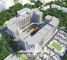 Apartament cu 2 camere și suprafața totală 70 m2. Planificare ...