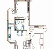 Spre vânzare se oferă apartament în varianta albă, cu 2 camere, ...