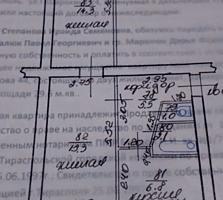 2 комн. квартира (К. Казармы, р-он Скорой помощи) 1 этаж 5 этажного дома