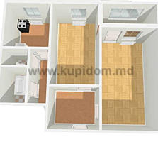 2 комнатная квартира в Тирасполе на Балке (варницкой постройки)