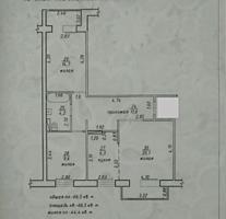 3-комн квартира, Кр. Казармы, м-н Шериф, 3/9 с евроремонтом