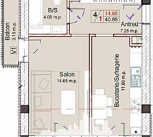 Bloc nou cu numai 5 nivele, 3 apartamente pe etaj,  Vă propunem ...
