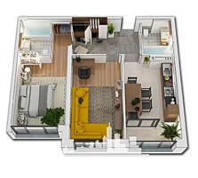 Spre vânzare apartament situat în sectorul Ciocana, str. Mircea cel ..