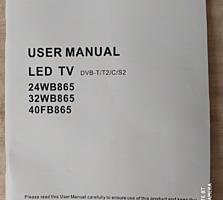 Продам телевизор LED TV BLAUPUNCT диагональю 82 см