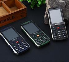 Мобильный телефон на 4 Sim Card Servo Новый!