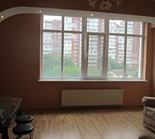 Траян, отличная, большая квартира, 75кв. м, ремонт, мебель, 4/12этаж.