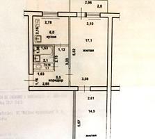 Северный, Бендеры, 2-ком. квартира, подготовлена под ремонт, 5/5 эт.