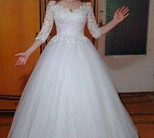 Продам свадебное платье недорого.