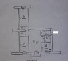 Правда, 3-ком. квартира на редком втором этаже!!!