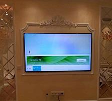 Монтаж телевизоров LСD, LED, плазменные на стену. Кронштейны ТВ.