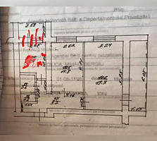 Продам 2 -х комнатную квартиру, мебель, техника.