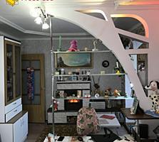 Продается 2-комнатная квартира, 2 лоджии. С мебелью и техникой.