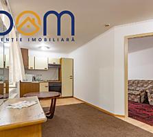 Apartament cu 2 camere în 2 nivele, încălzire autonomă, Botanica