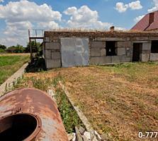 Продается недостроенный дом с гаражом в с. Карагаш