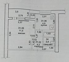 Продам 1-ую квартиру в Бендерах
