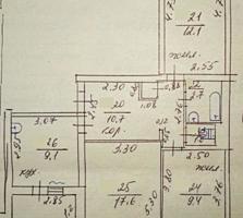 Трехкомнатная квартира 66 м2, ул. Вальченко 35, 5 этаж/9, 15000$