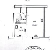 1-комнатная у политехнического. Хоммутяновка