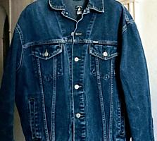 """Джинсовая куртка мужская """"DALLAS"""" размера M из хлопка"""