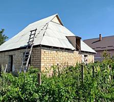 Продам земельный участок с новым домом.