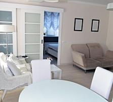Apartament cu 2 odai + living in casa noua sectorului Centru