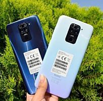 Новые Сяоми Redmi note 9 4/128ГБ, синий цвет, VoLTE 4G