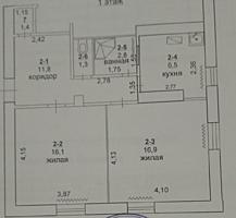 2-комнатная квартира (+гараж, +подвал) в центре города, ул. Московская
