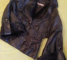 Продается куртка из натуральной кожи