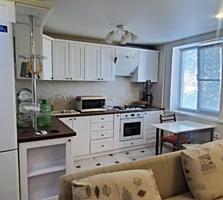 Продается 3 комнатная квартира с новым евроремонтом р-н Бородинки