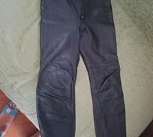 Кожаные брюки 42р. 100р.