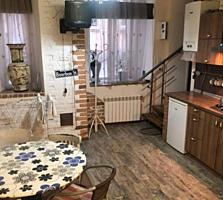 Кухня-гостиная и спальня на Пироговской, 1/4, 40 м2, капремонт, АОГВ