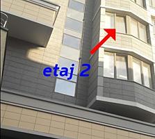 Apartament cu 1 camera. Varianta alba! Etjul 2, Suprafata - 59,3 m²