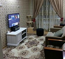 2-комн. квартира, БАЛКА, мебель и техника, ЕВРОРЕМОНТ, не угловая