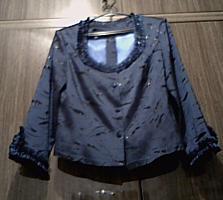 Женский синий костюм, 46-48 (Новый)