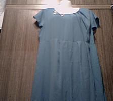 Женское бирюзовое платье, 46-48 (Новое)