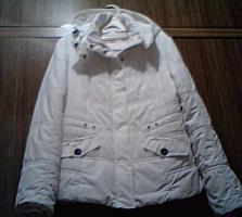 Женская белая куртка, 46-48 (Новая)