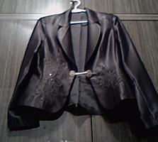 Женский коричневый костюм, 46-48 (Новый)