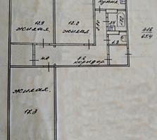 3-х комнатная квартира от собственника