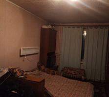 Большая комната в блоке с мебелью и техникой по Текстильщиков