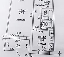 ХОМУТЯНОВКА 1-к жилая кв. 7/9 36/17/6,6 балкон 5,4 кв. м. застеклен