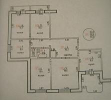 5-комнатная квартира, м-н Вальченко