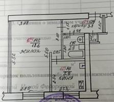 Продаётся 1 - комнатная квартира в жилом состоянии