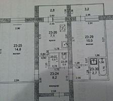 2-комнатная на Борисовке ул. Полоза, 16. Этаж 2/5 Общая площадь 47,8 м²