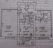 2-комнатная чешка на Борисовке, П. Морозова, 4. Общ. пл. 47 м², 3-й этаж.