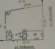 4-комнатный 2-этажный дом в ЦЕНТРЕ Бендер. Угол Шестакова и Кавриаго.