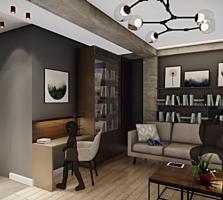 Продается квартира-студия с евроремонтом под ключ (мебель и техника)