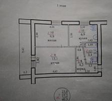 Продам 2-ух комнатную квартиру в центре (района маг. Енисей)