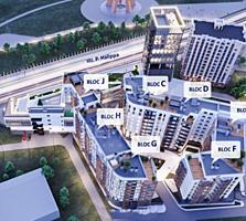 Complexul rezidenţial multifuncţional TORO CENTER str. Pan. Halippa, .
