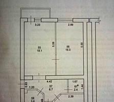 Продается 3-х комнатная квартира в п. Красное Слободзейского района