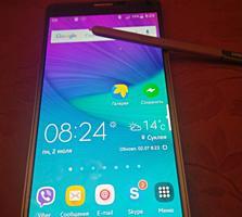 Samsyng Galaxy Note4-б/у- GSM-иногда глючит контролер питания-500=руб.