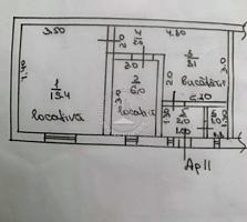 : Spre vinzare apartament ( casa pe pamint ) in sectorul Centru, str.